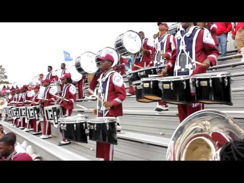 SCSU Drumline  Homecoming 2012 in the Stands