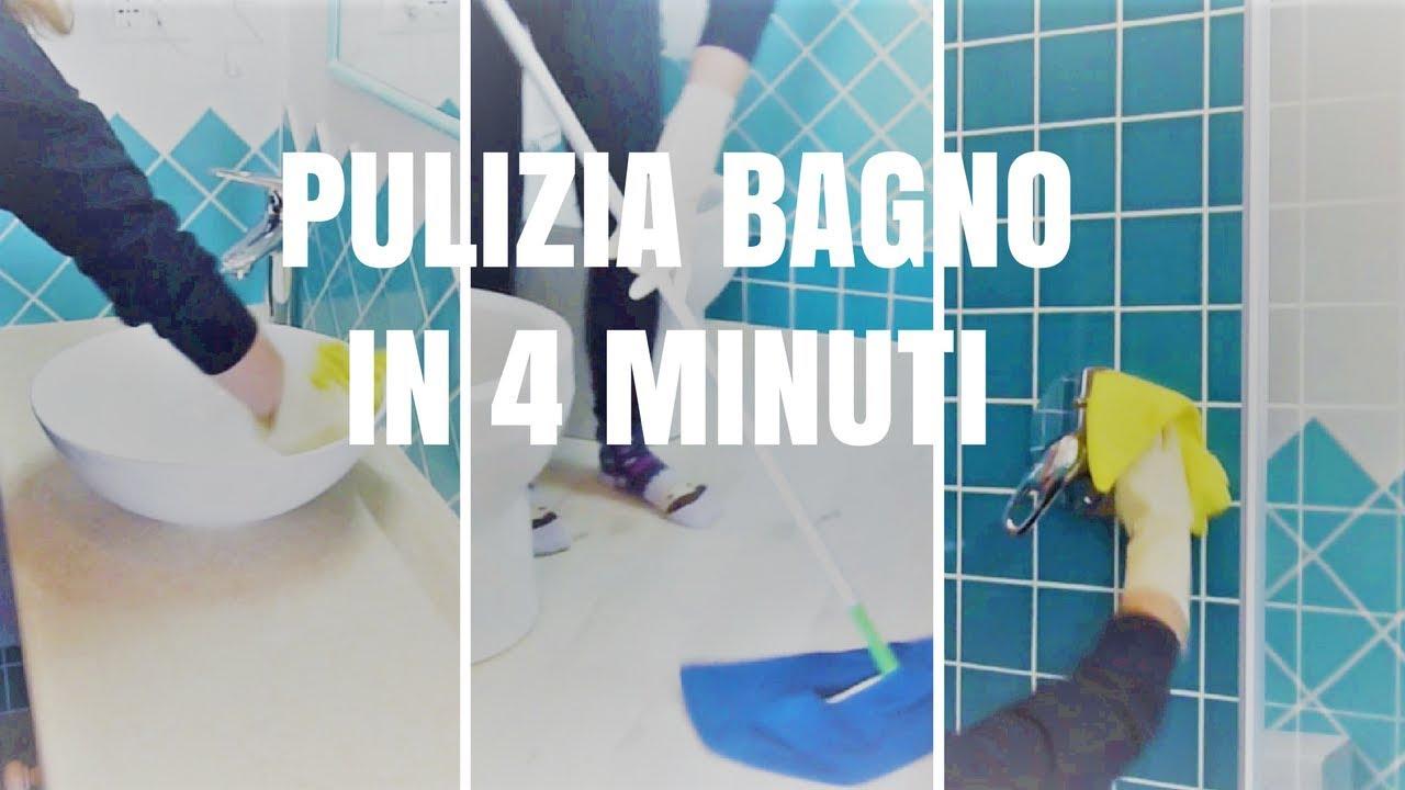 Come pulire il bagno in soli 4 minuti youtube