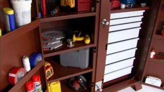 Jobox® - Industrial 2 Door, 8 Drawer Cabinet - [1-679990]