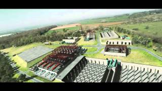 North Plymouth Water Treatment Works - CGI site build