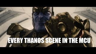 Every Thanos Scene in the MCU Before Infinity War