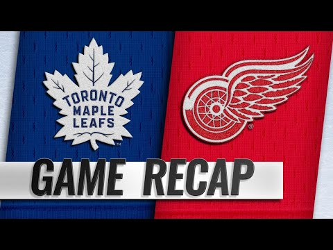 DeKeyser nets OT winner to lead Wings past Leafs