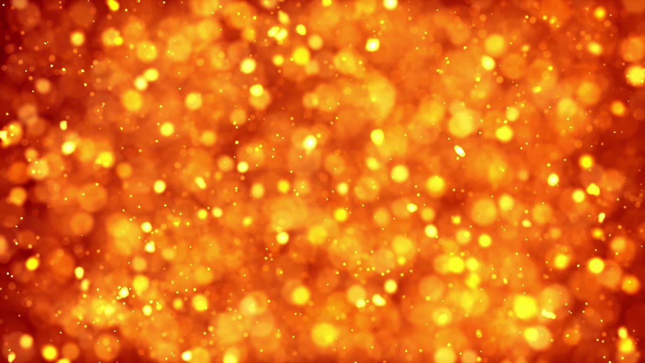Gold Orange Full HD Background Animation Free Video Loops