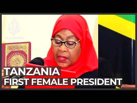Tanzania Swears In New President After Sudden Death Of Magufuli