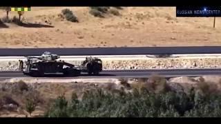 Курды взорвали бронемашину Турецкой Армии в Сирии