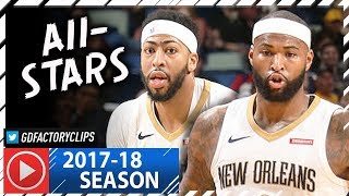 Anthony Davis & DeMarcus Cousins Full Highlights vs Grizzlies (2018.01.20) - 45 Pts Combined, NASTY!