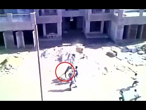 OMG! Leopard attack outside army hospital in Meerut