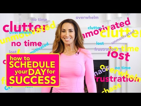 How to schedule your day for success! | Natalie Jill