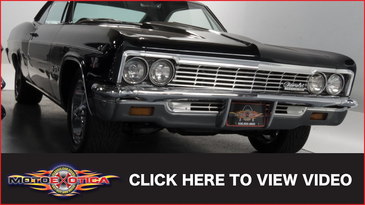 1966 Chevrolet Impala Ss Coupe Sold Youtube 1951 Super Sport