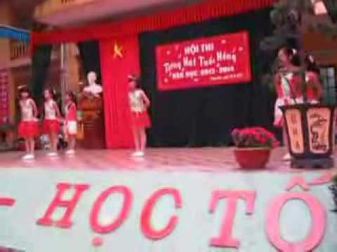 Múa Nhớ ơn thầy cô- Chi đội 5A Trường tiểu học Trung Hòa-Chương Mỹ -Hà Nội.2013-2014