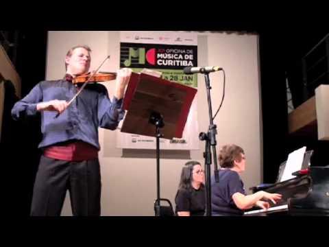 Prokofiev Sonata nr.2 primeiro movimento Oficina De Musica Curitiba 2012 Nicolas Koeckert,Olga Kiun