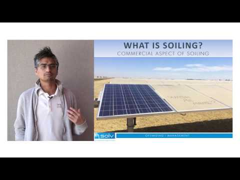 Soiling Assessment in Large-Scale PV Arrays - SOLV