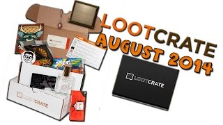 Loot Crate UNBOXING - Heroes!- AUGUST 2014