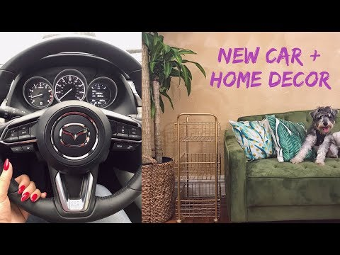 VLOG | New Car + Home Decor Shopping