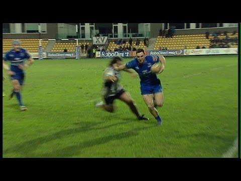 Darren Hudson Bonus Point Try - Zebre v Leinster 9th February 2014