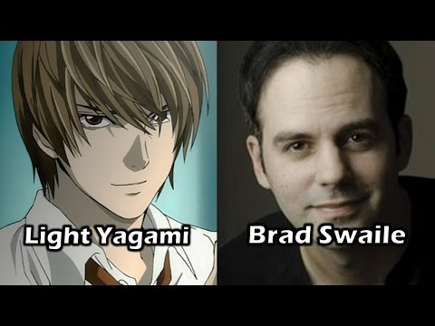 Characters and Voice Actors  Death Note