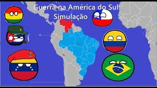 Guerra Na América Do Sul(Brasil X Venezuela) Simulação