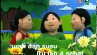 Gambar cover Lagu Anak-Anak : 4 sehat 5 sempurna