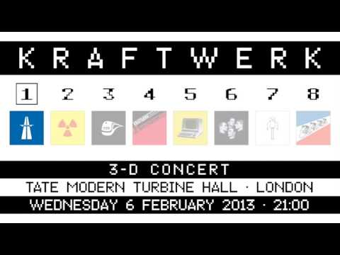 Kraftwerk - Tate Modern Turbine Hall, London, 2013-02-06
