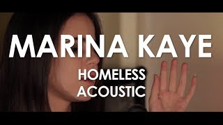 Marina Kaye - Homeless - Acoustic [Live in Paris]