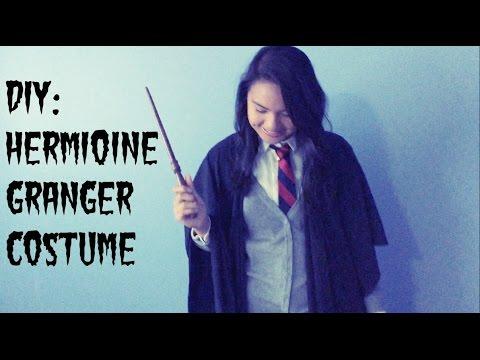 Diy Hermione Granger Costume Youtube