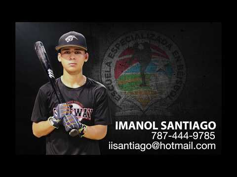 Imanol Santiago Baseball Recruiting Video