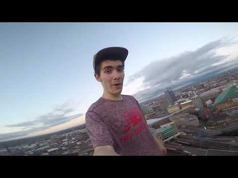 MANCHESTER VLOG (PART 3) - PARKOUR, ROOFTOPS & MESSING AROUND