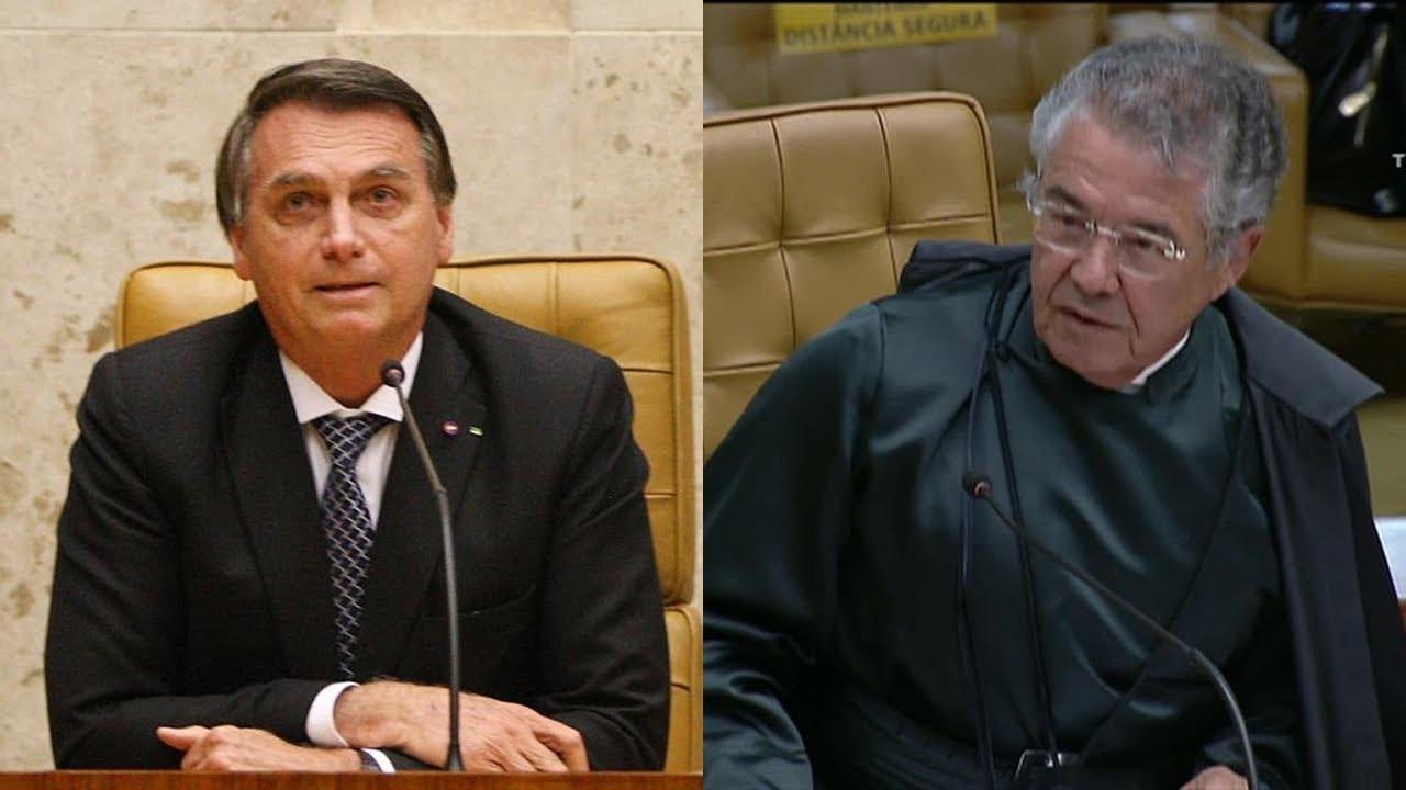 """Marco Aurélio a Bolsonaro: """"Eleito com mais de 57 milhões de votos; mandatário maior do país"""""""
