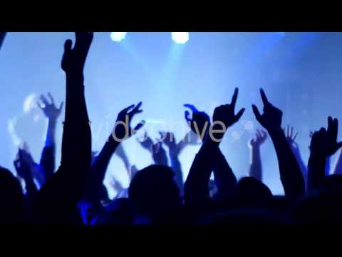 Party People In Action Video Stock Footage