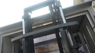 [화물적재 상차] 전기지게차 운전으로 1톤 냉탑차(정탑…