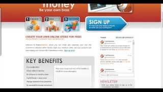 create a free ecommerce website with freewebstore dot com