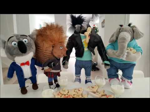SING toys / not McDonald's Happy Meal toys have fun and bake cookies! :)
