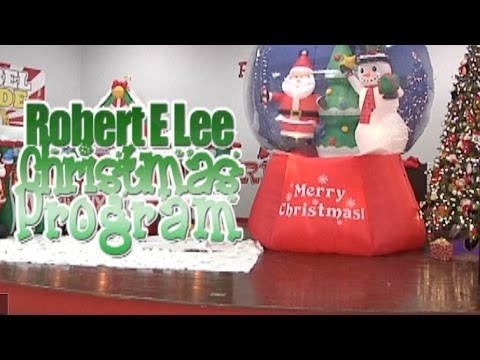 Robert E Lee - Christmas Program Winter 2015