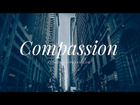 Inspire Consciousness: Compassion | Alphonso Speaks