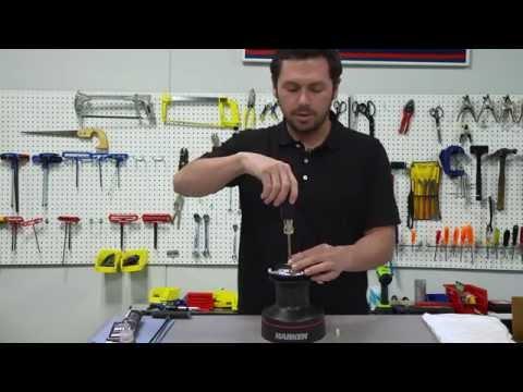 Servicing The Harken 40 Radial Winch