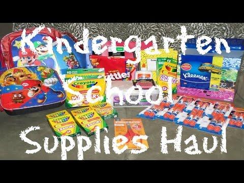 ♦Kindergarten School Supplies Haul♦