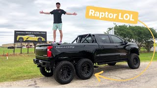 homepage tile video photo for How to Embarass a Ford Raptor:  Build a 6x6 Hennessey Goliath