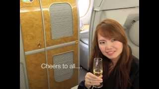 a380 first class experience from paris to dubai