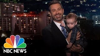 Jimmy Kimmel And His Son Make A Plea For Health Care Reform   NBC News