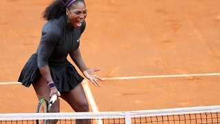 2016 Internazionali BNL dItalia Semifinal | Serena Williams vs Irina-Camelia Begu | WTA Highlights