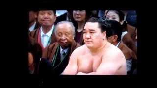 豊ノ島vs日馬富士 平成27年大相撲春場所 Toyonoshima vs Harumafuji SUMO.