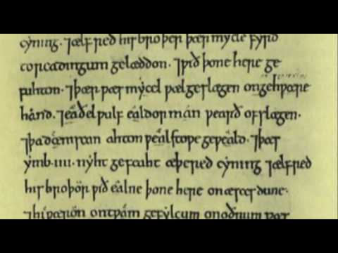 The Lord's Prayer (Fæder Ure) In Anglo Saxon (Old English)