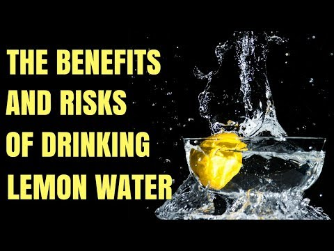 The Benefits of Drinking Lemon Water and Risks You Need You Know