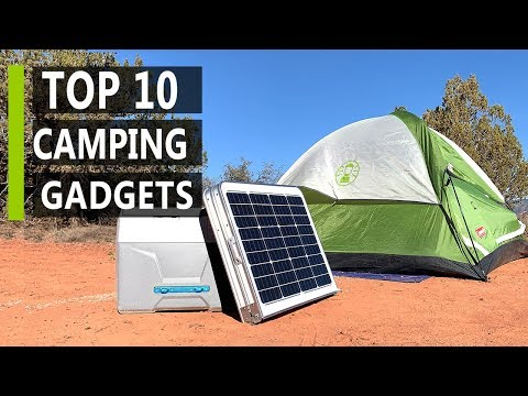 Top 10 Latest Camping Gadgets & Gear Inventions