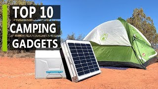 Top 10 New Camping Gadget & Gear You Should Buy