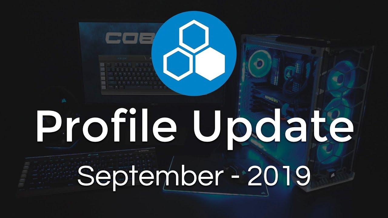 September 2019 Update - Old Profiles Crashing