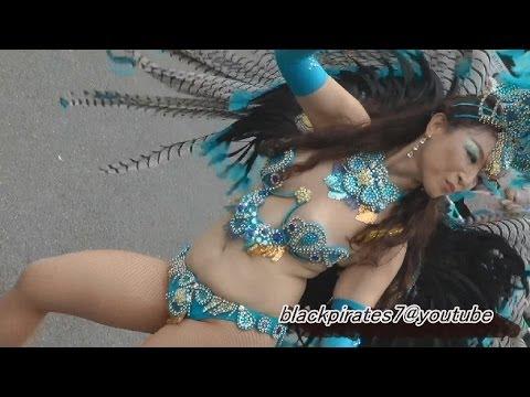 美しき !! サンバダンサーさん☆ はむら夏祭り SAMBA CARNIVAL (サンバカーニバル)