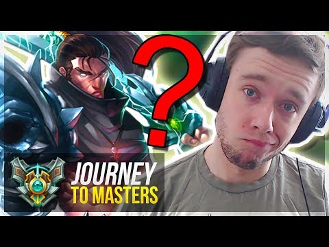 BRINGING OUT YASUO IN MY D1 PROMOS... - Journey To Masters | League of Legends