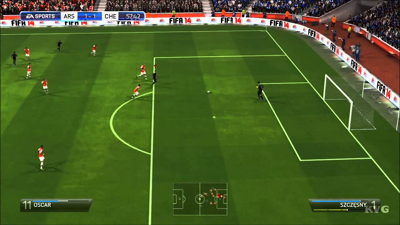 FIFA 14 - Arsenal FC vs  Chelsea FC Gameplay [HD]
