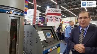 Secador deshumificador NovaWheel, de Novatec, en Expo Plásticos